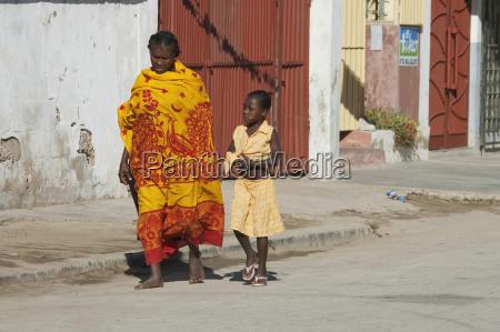 woman girl in toliara madagascar
