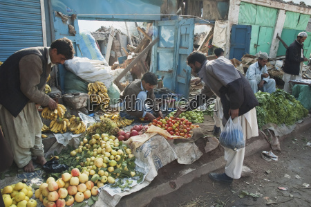 produce for sale in front of