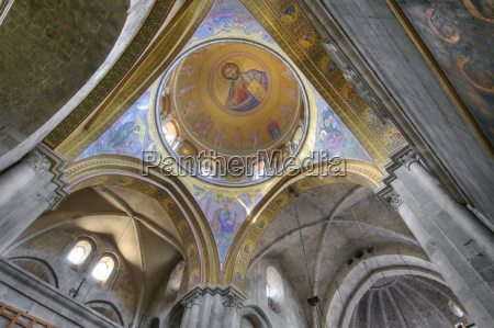 dome of the katholikon church of