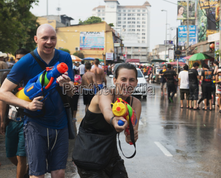 songkraan festival chiang mai thailand