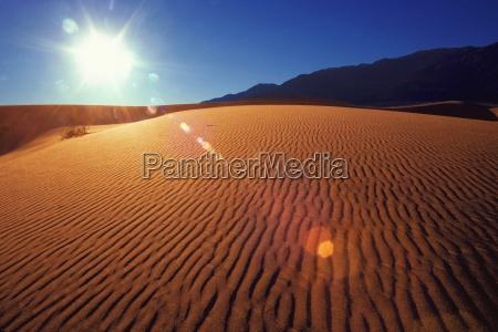ripples in desert sand