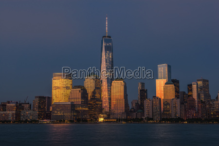 the new world trade center at