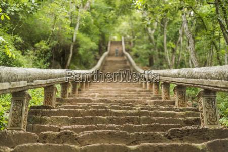 stairs to wat banan battambang city