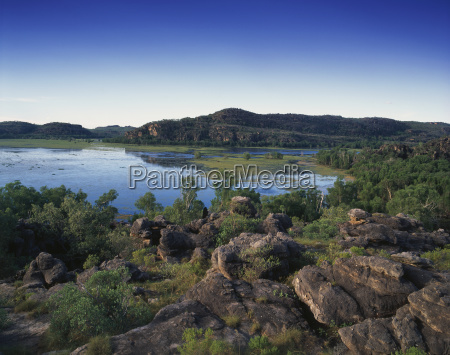 landscape of arnhem land region northern