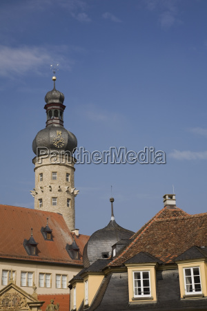 clock tower and old architectural style