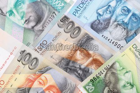 zahlungsmittel slowakei waehrung europa finanz finanzieren