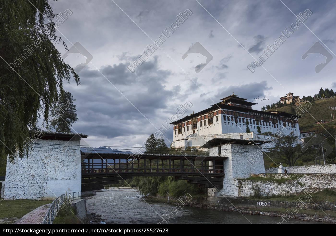 rinpung, dzong;, paro - 25527628