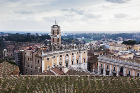 view from a roof basilica of