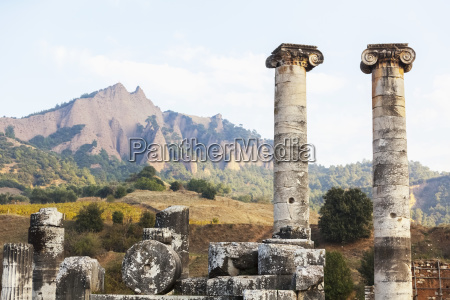 ruins of the temple of artemis