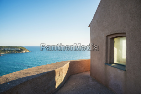 view of the mediterranean sea from