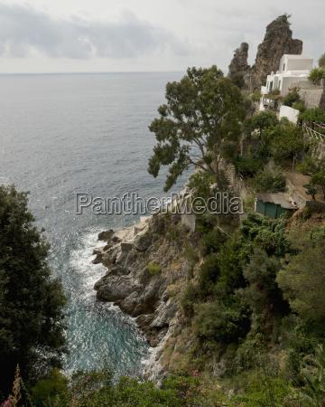 house along the amalfi coast amalfi