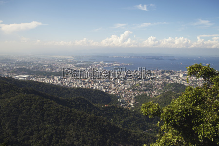 view of rio city centre from