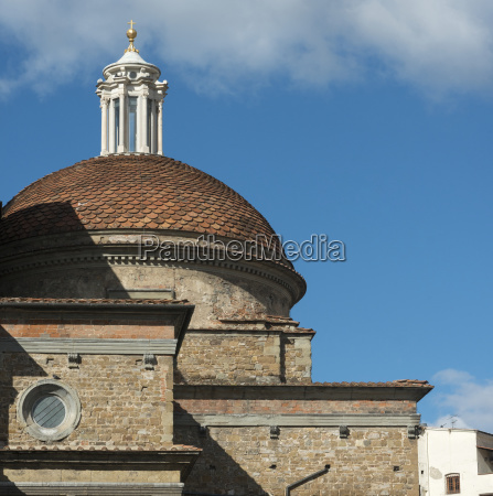 church building with dome roof against