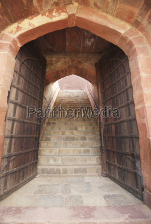 doorway and gates to 16th c