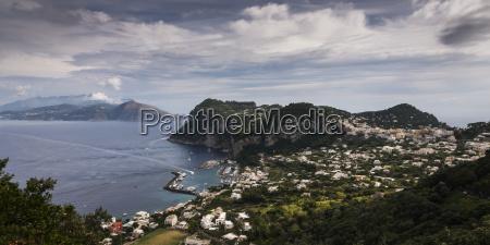 capri a city on the island