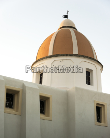 a church building with dome roof