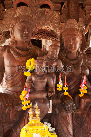 sanctuary of truth wooden building with