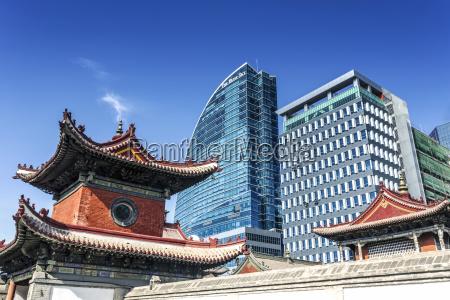 blau buero fahrt reisen architektonisch religion