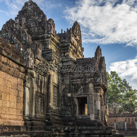 temple in angkor archaeological park siem