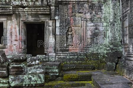 banteay kdei temple a buddhist temple