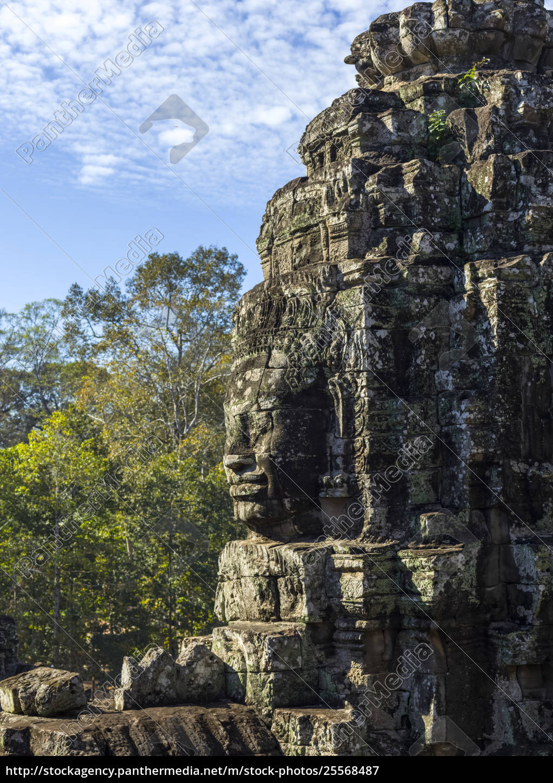 buddhist, structure, at, bayon, temple, , angkor - 25568487
