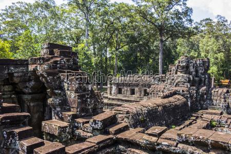 library of the bayon angkor thom