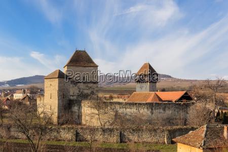 the cavnic fortress transylvania romania