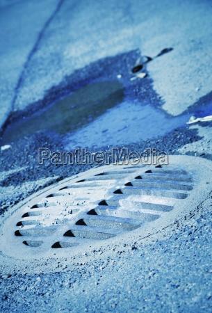 metall senkrecht abwasser wasser h2o vertikal