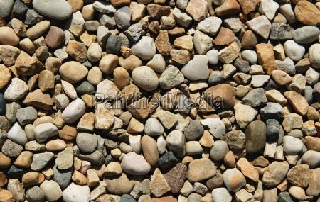 washed rocks