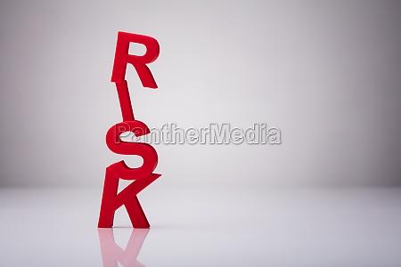 nahaufnahme eines roten risikoprots
