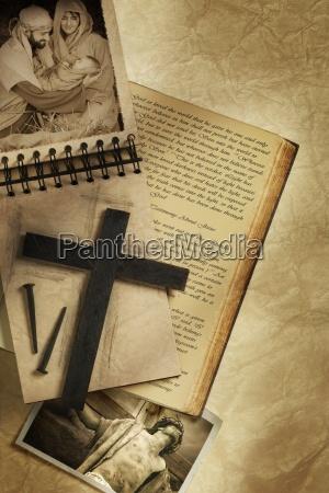 collage vom leben jesu