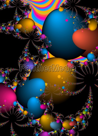 multi coloured abstract background