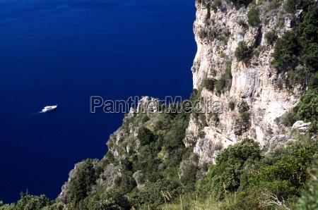 cliffs at amalfi salemo campania italy
