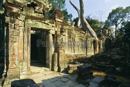 prah khan temple angkor cambodia