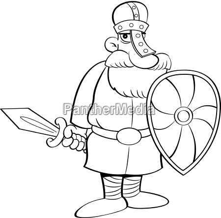 black and white illustration of a