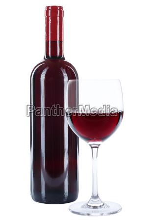 weinflasche wein flasche glas weinglas rot