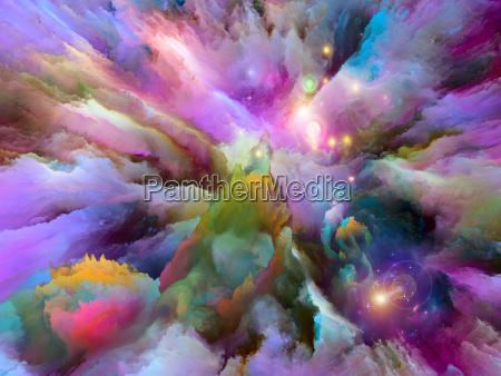 metaphorische surreale farbe