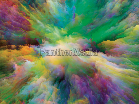 die flucht der surrealen farbe