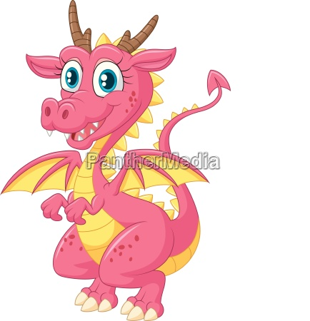 cartoon cute dragon