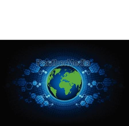kommunikation digital technologie schaltung mitteilung globus