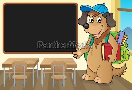 school dog theme image 3