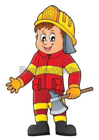 avoro virile mascolino persona pompiere maschio