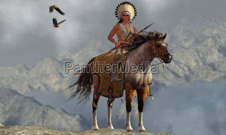 indian soaring eagle