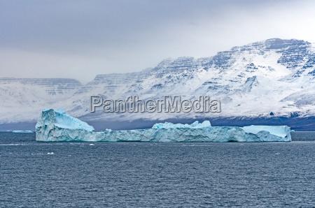 groenland fjord eisberg