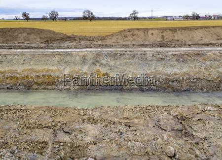rural landscape and earthwork