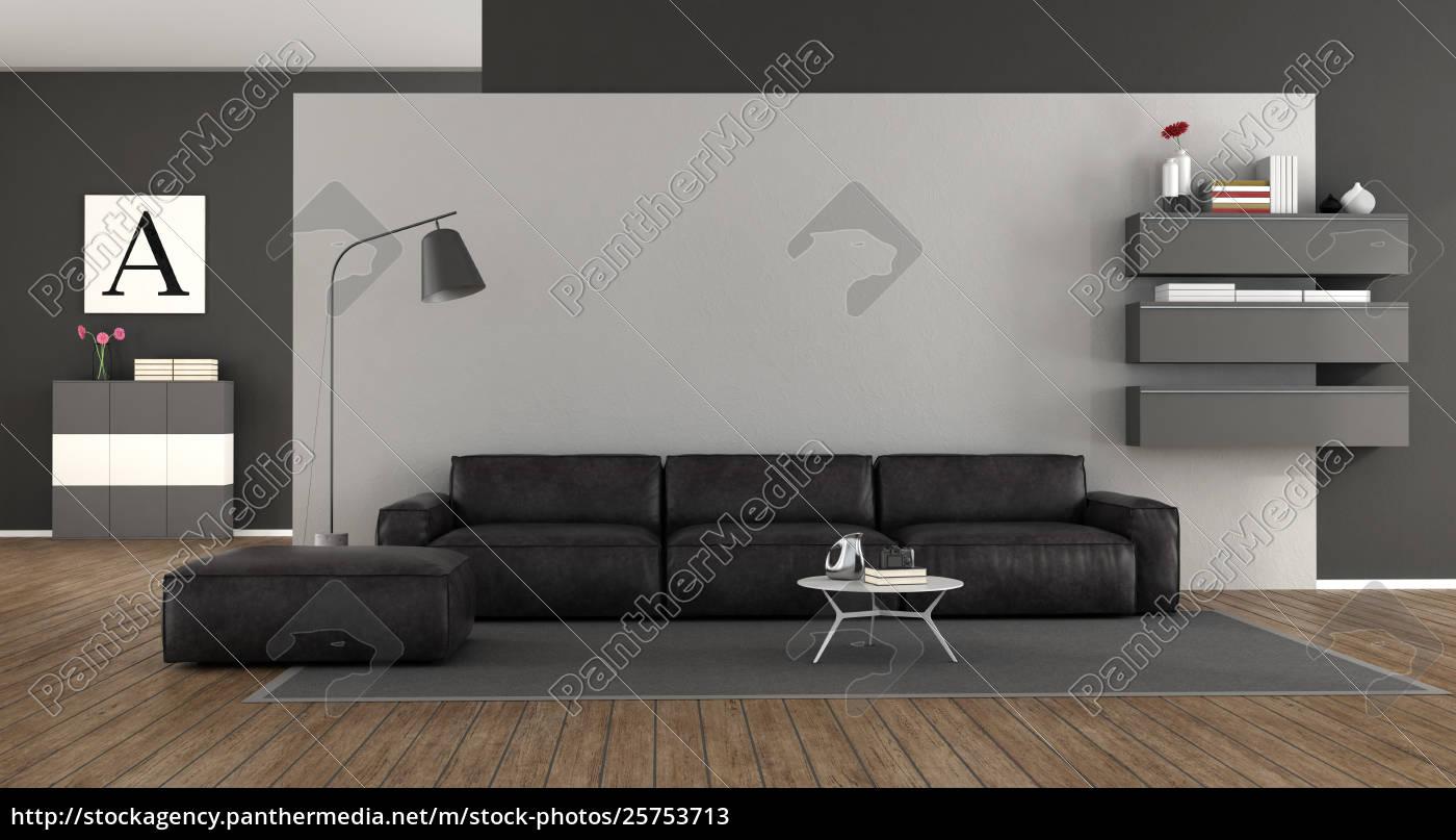 Stockfoto 25753713 Minimalistisches Wohnzimmer