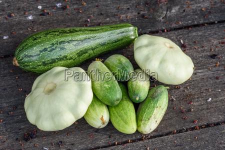 lese gurke gemuese squash zerquetschen pflanzlich
