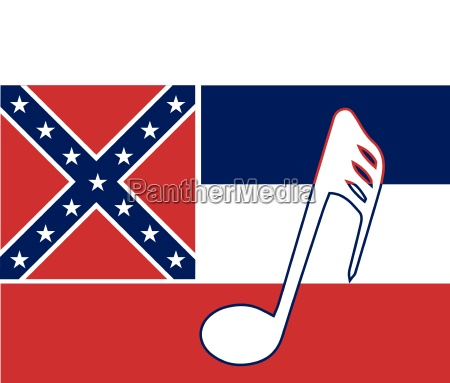 musikalische mississippi state flag