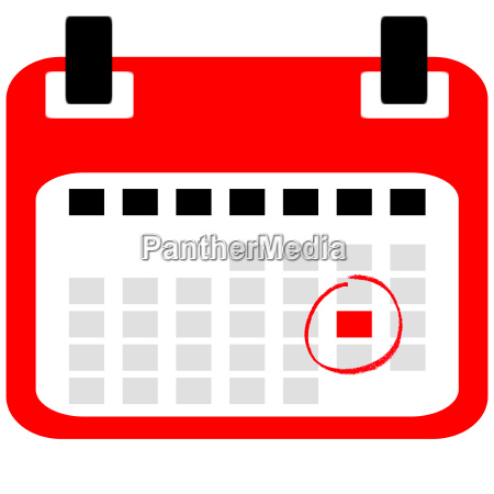 calendar icon with reminder