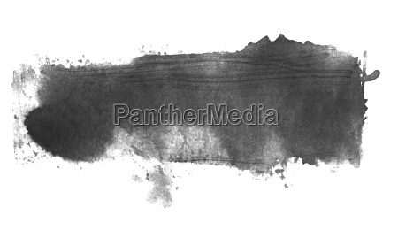 isolated grey black watercolor texture